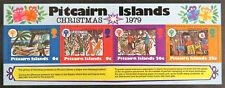 1979 Pitcairn Islands Decimal Stamps - Christmas - Mini Sheet - Light Crease MNH
