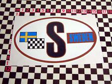 Estilo Clásico Sueco S Adhesivo SAAB VOLVO 95 96 AUFKLEBER Amazon P1800 122s