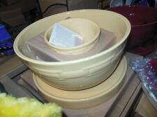 Longaberger Pottery Butternut Yellow 8 in 1 Entertainer, Baker Casserole Server