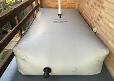Water Storage Bladder Tanks 2000L FEMALE GREY rainwater, grey water, irrigation