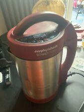 Morphy Richards 501018 Soup & Smoothie Maker 1.6L - Red