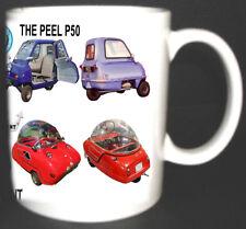 PEEL TRIDENT P50 MICRO CAR CLASSIC CAR MUG LIMITED EDITION DESIGN 1962-1966