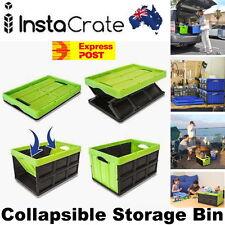 InstaCrate Collapsible Storage Bin 46 Liters 53x36x30cm Automotive Grocery Sport