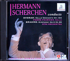 Pierre Fournier: Dvorak Cello Concerto Brahms Symphony No. 3 Hermann Scherchen CD