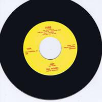 BILL WOODS - BOP / GO CRAZY MAN - TOP NOTCH BAKERSFIELD ROCKABILLY - NEW REPRO