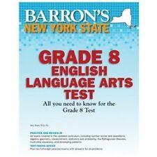 Barron's New York State Grade 8 English Language Arts Test (Barron's Let's Prepa