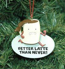 Coffee, Latte, Java, Christmas Ornament