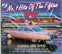 No 1 HITS OF THE FIFTIES (50s) ORIGINAL CHART-TOPPERS