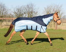 Equestrian King Fly Rug All-In-One With Belly Flap FREE Fly Mask UV Protection