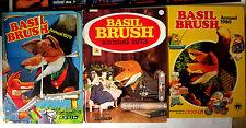 Basil Brush - 3 British Annuals UK HB VG+ puppet fox tv show 1973 1979 1980
