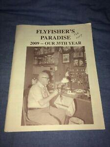 2009 Flyfisher's Paradise VTG Fly Tying Supply, Fishing Gear Mail Order Catalog