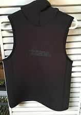 XCEL THERMOFLEX 6-5-4 HOODED WETSUIT VEST LARGE *NEW* MB6586UP