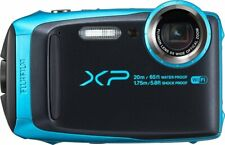 Fujifilm 16544448 FinePix XP120 Waterproof Digital Camera, Sky Blue