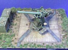 Resicast 1/35 QF 3inch 20cwt British AA Gun 1918 WWI Fixed Position &Base 351254