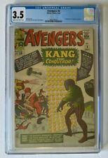Avengers #8 CGC 3.5 - 1st Appearance Kang the Conqueror 1964 Marvel Comics
