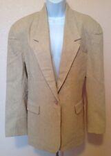 Savannah Beige Classic Jacket / Blazer Size 10
