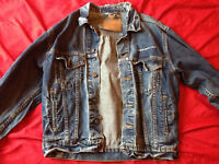 Levis Jeansjacke U2 Elevation Tour 2001 Trucker Size S small Levi´s fits like M