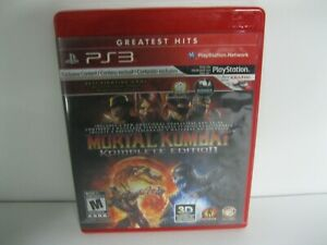 Mortal Kombat Komplete PS3 game