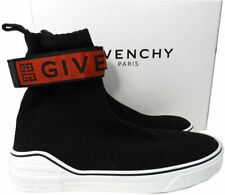 GIVENCHY Men's George V 4G Webbing Knitted High-Top Sock Sneakers 45