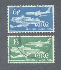 Ireland-Aer Lingus-Aviation fine used-set 184/5