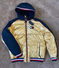 Mens L XXL 2XL Tommy Hilfiger Puffer Hooded Outerwear...
