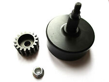 BAJA CLUTCH BELL PLUS 17T PINION GEAR,  COMPATIBLE WITH  HPI BAJA 5B/SS/5T
