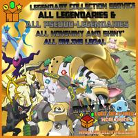 Pokemon Home All Legendary Pokemon | Zarude + Celebi for Sword and Shield Galar