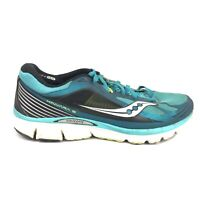 Saucony Kinvara 5 Running Shoes Mens Size 10.5 10 1/2 Blue Green Sneakers S20238