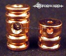 1 Copper Groove Binding Post Set - Front and Rear 8-32 American Thread