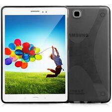 "Black Soft TPU Silicon Gel Case Cover Skin For Samsung Galaxy Tab A 8.0"" SM-T350"