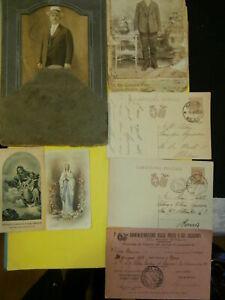 """stock pubblicita' foto vecchie - cartoline postali - santini """" vintage COLLEZION"""