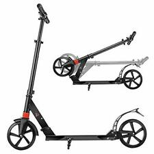 Outcamer Scooter Folding Kick Scooter Big Wheels Scooter for Kids/Adults with.