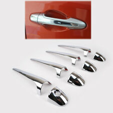 For Toyota RAV4 2013-2018 Chrome Door Handle Cover Trim Cap Catch Overlay Insert