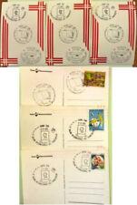 3 cartoline 9° salone internazionale del francobollo 1985