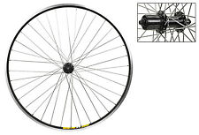 Wheel Rear 700c Weinmann ZAC19 Black MSW 36 Alloy 8S CASS Black SS2.0SL
