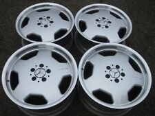 "RARE Genuine Mercedes AMG Monoblock 18"" staggered rims in showroom condition"