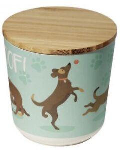 Patch Dog Treat Storage Jar