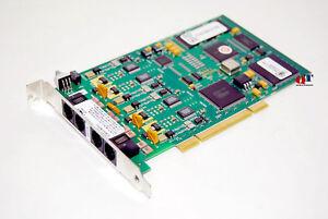 NEW Dialogic D 4PCIUFW Voice Fax Board 881-775 14.4 Kbps PCI DTMF Decoding