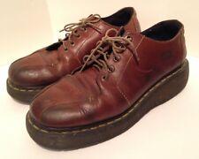 Dr Martens Men's Brown Leather Upper Low Ankel Boots Shoes Size 9