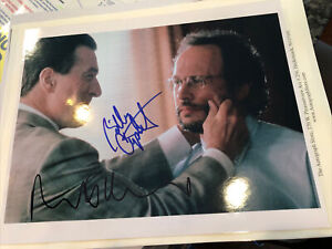"Robert De Niro Billy Crystal Autographed 8""x10"" Analyze This Photograph with COA"