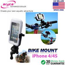 Aryca Wave II WaterProof iPhone 4/4s Case w/ Mount Kit f/ Bike Motorcycle Jetski