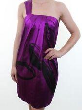 Oasis Silk Dresses One Shoulder Mini