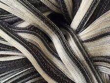 Diakeito DiaMaterie Ribbon Yarn #614 Black White Gray Beige 30gr 79yds