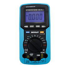 Pro Digital Automotive Multimeter Handheld RPM Dwell Angle Test Pulse Width Test