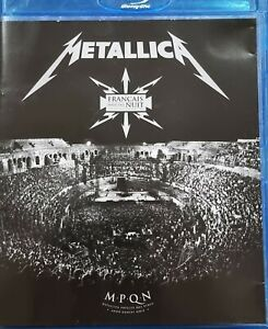 METALLICA BLU RAY - FRANCAIS POUR UNE NUIT (2009) with Booklet, FREE POST