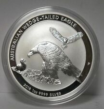 2018 Australian Wedge-Tailed Eagle 1 Oz 9999 Silver Coin - Australia - Jy245