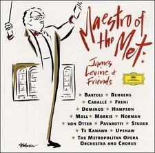 Maestro of the Met: James Levine and Friends (CD, Sep-1995, 2 Discs, Deutsche Gr