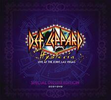 DEF LEPPARD - VIVA! HYSTERIA 2 CD + DVD BOX SET NEUF