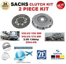 FOR VOLVO V50 MW 2.0D V70 BW 2.0D 136bhp 2004-> SACHS 2 PIECE NEW CLUTCH KIT