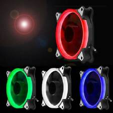 LED Cooling Fan RGB 120mm 12V Brushless Cooler For Computer Case PC CPU XUN